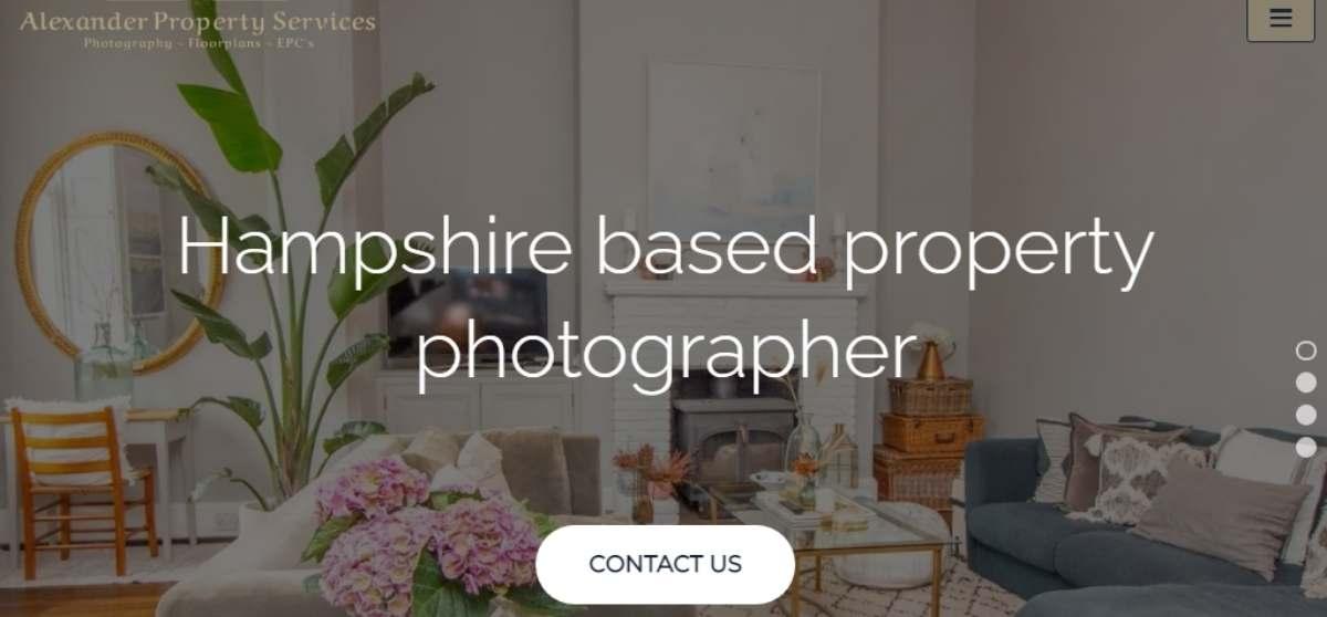 Alexander Property Services website